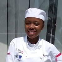 Chef student giving lessons in both cooking and baking for anyone interested